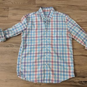 J Crew Secret Wash Button Down Shirt L